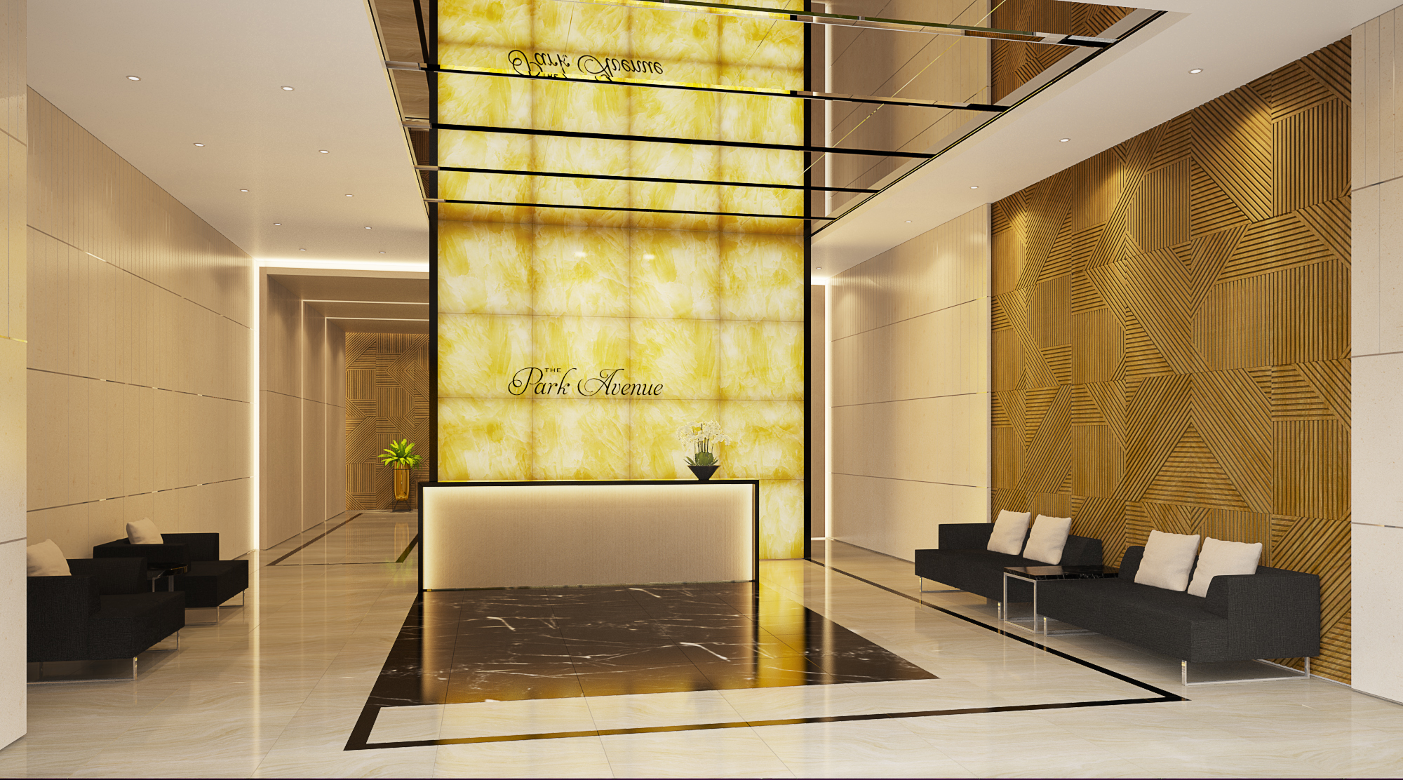 Nhà mẫu dự án căn hộ chung cư The Park Avenue Quận 11 Đường Lê Đại Hành chủ đầu tư Novaland