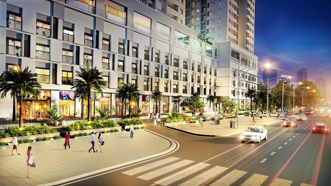 shop thuong mai du-an-can-ho-chung-cu-the-park-avenue-duong-3-2-quan-11 hinh 02