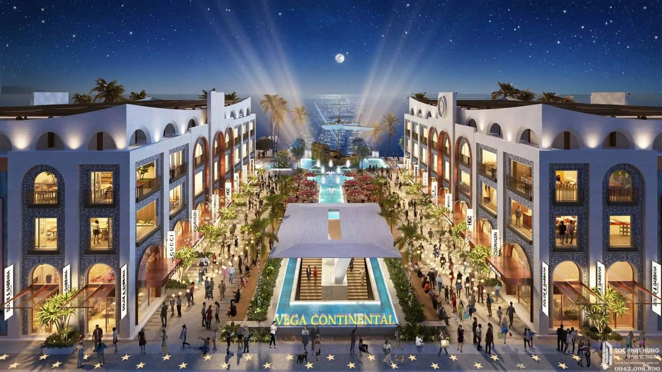 Shophouse Europe Vega City Bãi Tiên Nha Trang chủ đầu tư KDI Holdings