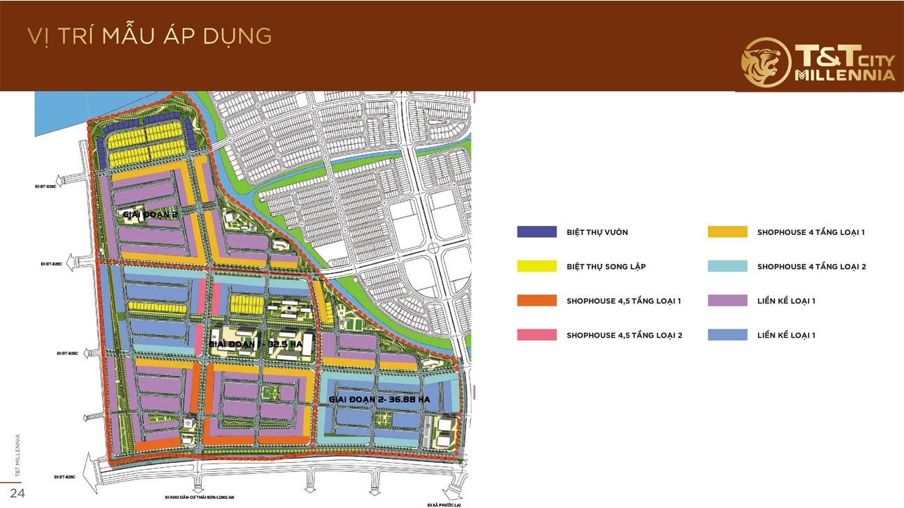 Quy chuẩn xây dựng dự án T&T Millennia City Long Hậu