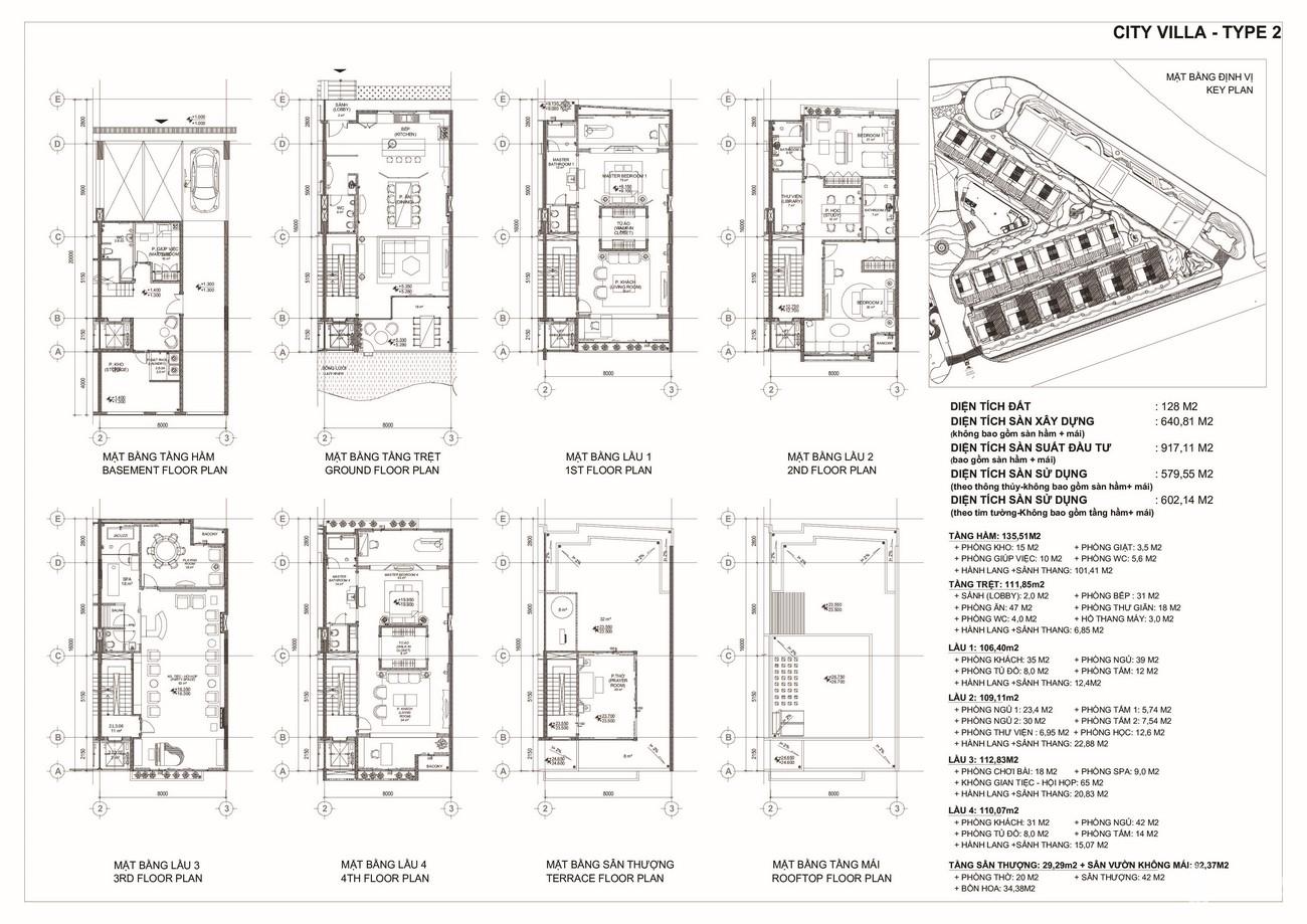 Thiết kế dự án biệt thự chung cư TNR Evergreen Quận 7 Đường Nguyễn Lương Bằng chủ đầu tư TNR Holding