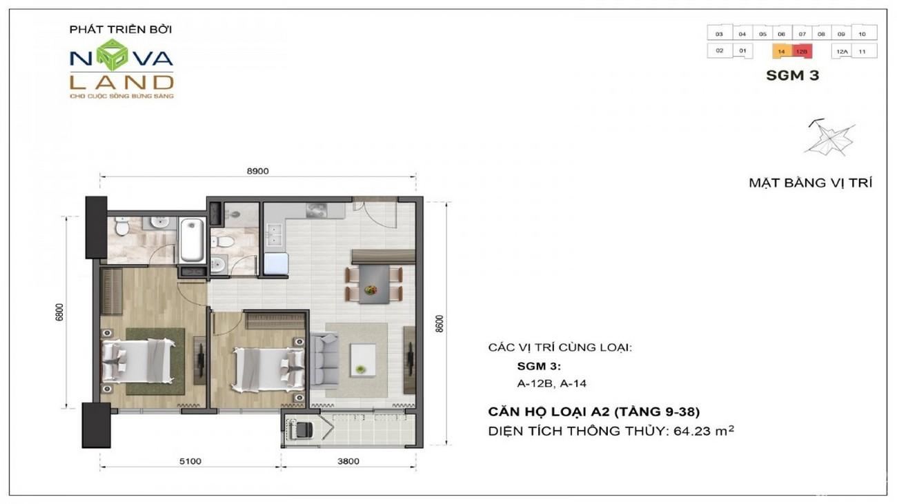 Thiết kế dự án căn hộ chung cư The Grand Manhattan Quận 1 Đường 100 Cô Giang  chủ đầu tư Novaland