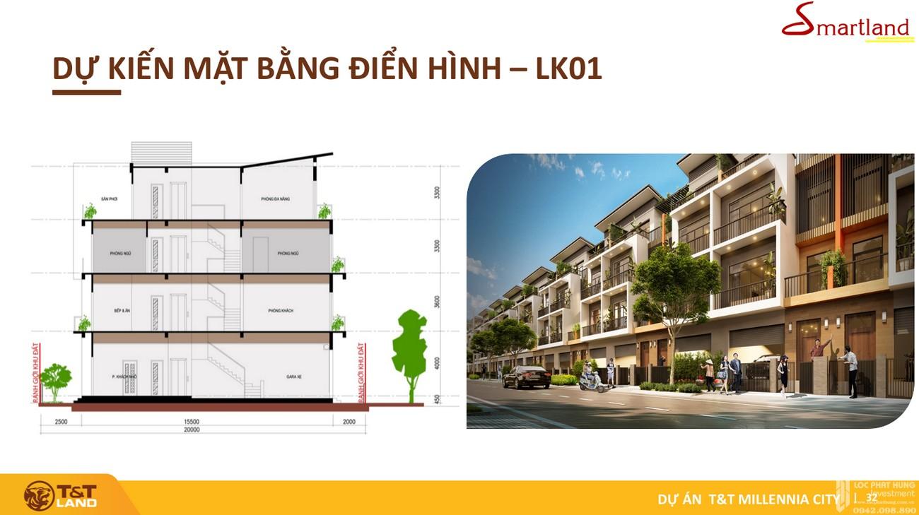 Thiết kế dự án đất nền T&T Millennia City Cần Giuộc Đường Lê Văn Lương chủ đầu tư T&T Group