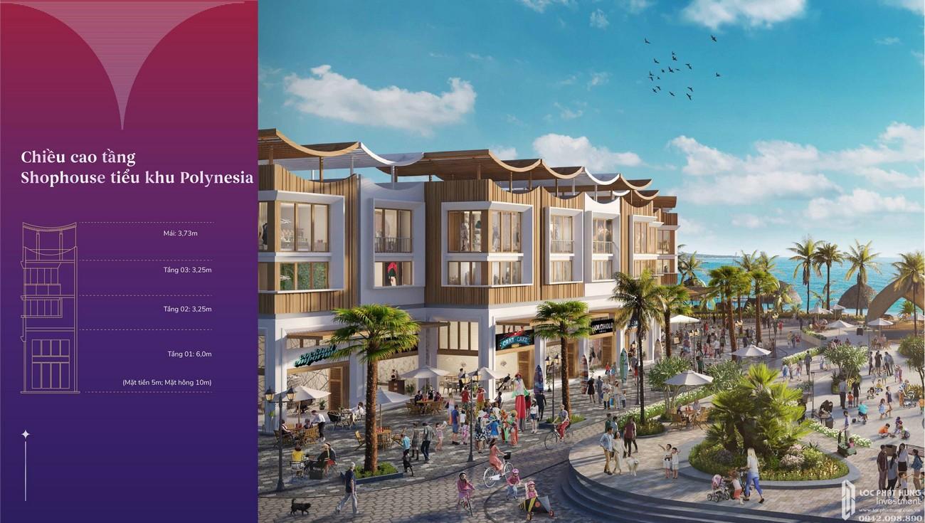 Thiết kế shophouse dự án Vega City Nha Trang