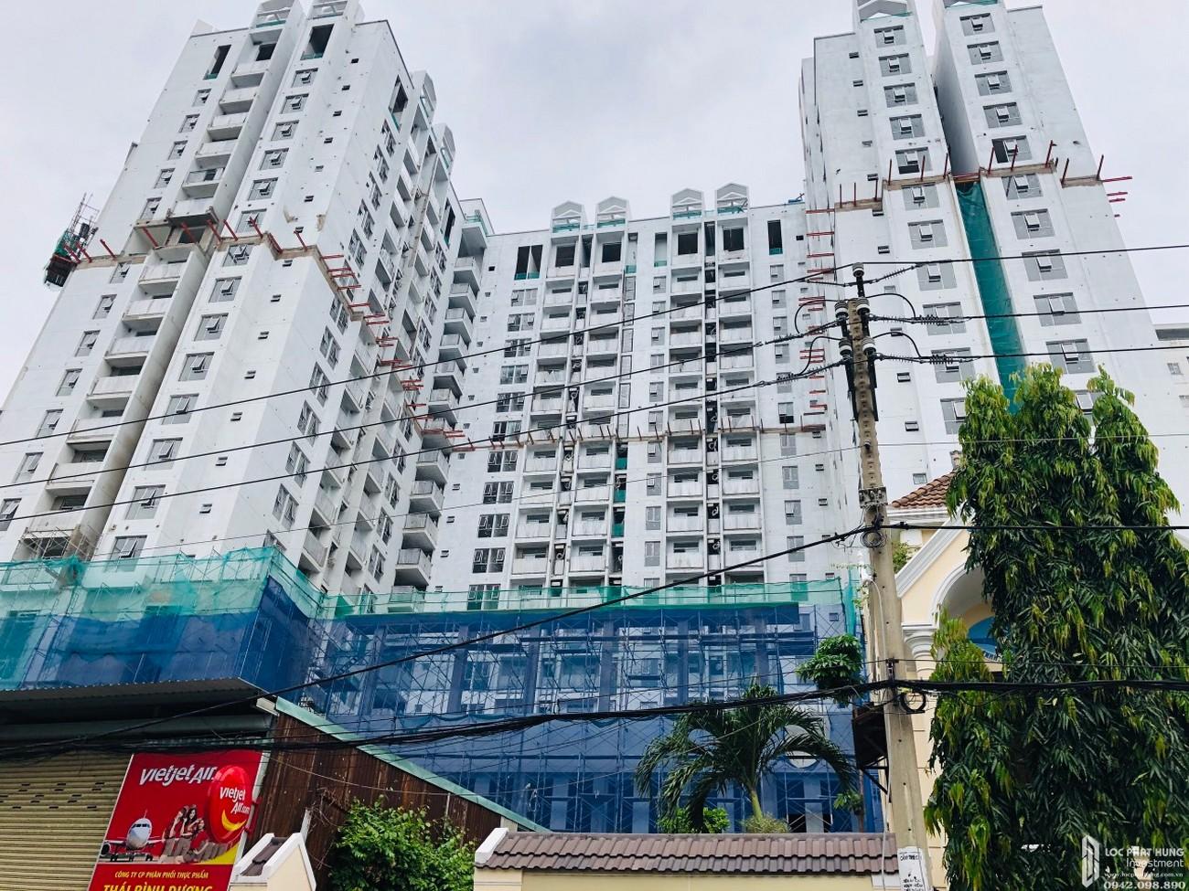 Tiến độ Asiana Capella dự án căn hộ chung cư Quận 6 tháng 12/2020 Đường 184 Trần Văn Kiểu chủ đầu tư Gotec Land