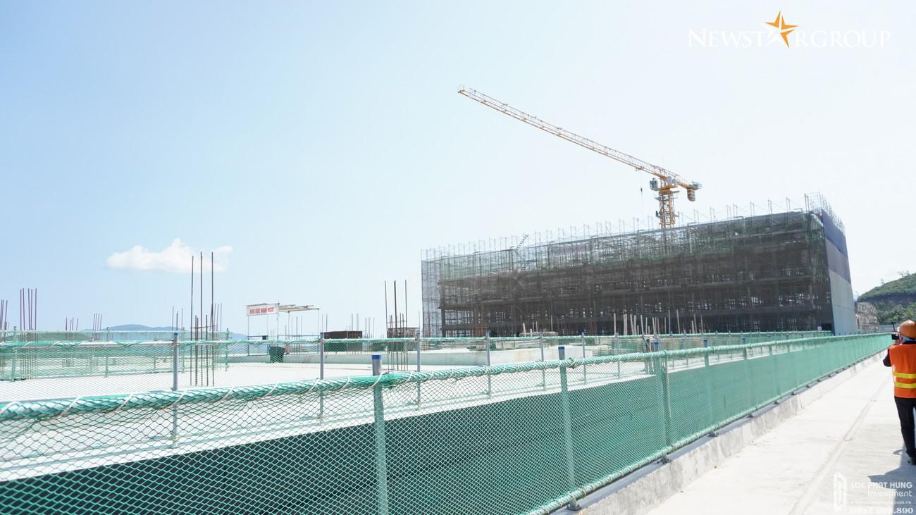 Tiến độ dự án Biệt thự, nhà phố Vega City 03/2021 Bãi Tiên Nha Trang chủ đầu tư KDI Holdings