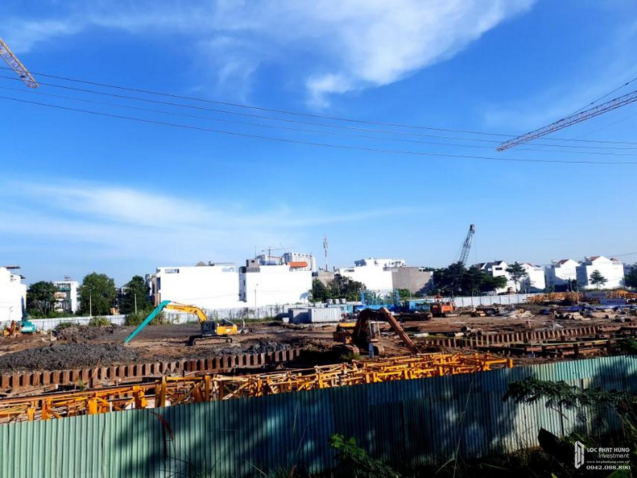 Tiến độ dự án căn hộ chung cư Dream Home Riverside Quận 8 Đường Nguyễn Văn Linh chủ đầu tư Công ty TNHH Lý Khương