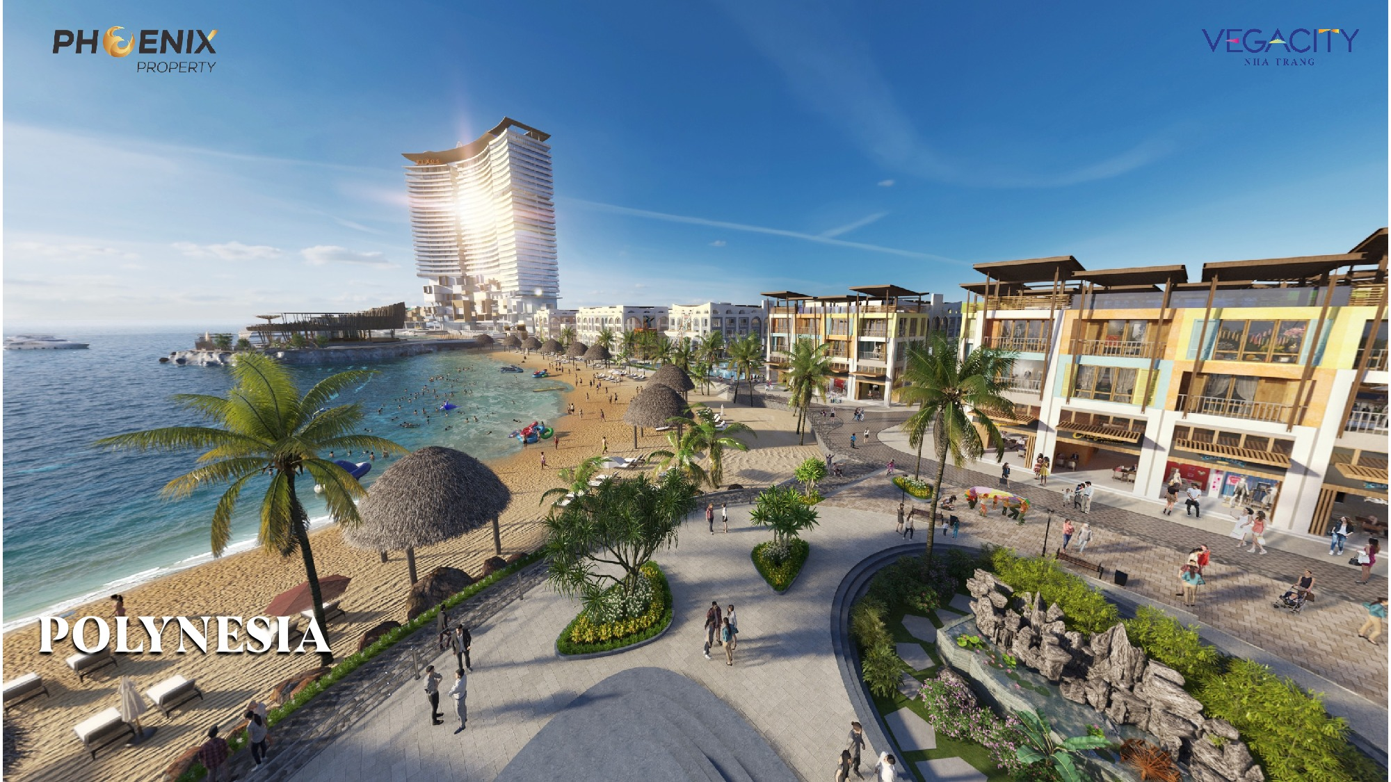 Tiện ích dự án Biệt thự, nhà phố Vega City Bãi Tiên Nha Trang chủ đầu tư KDI Holdings