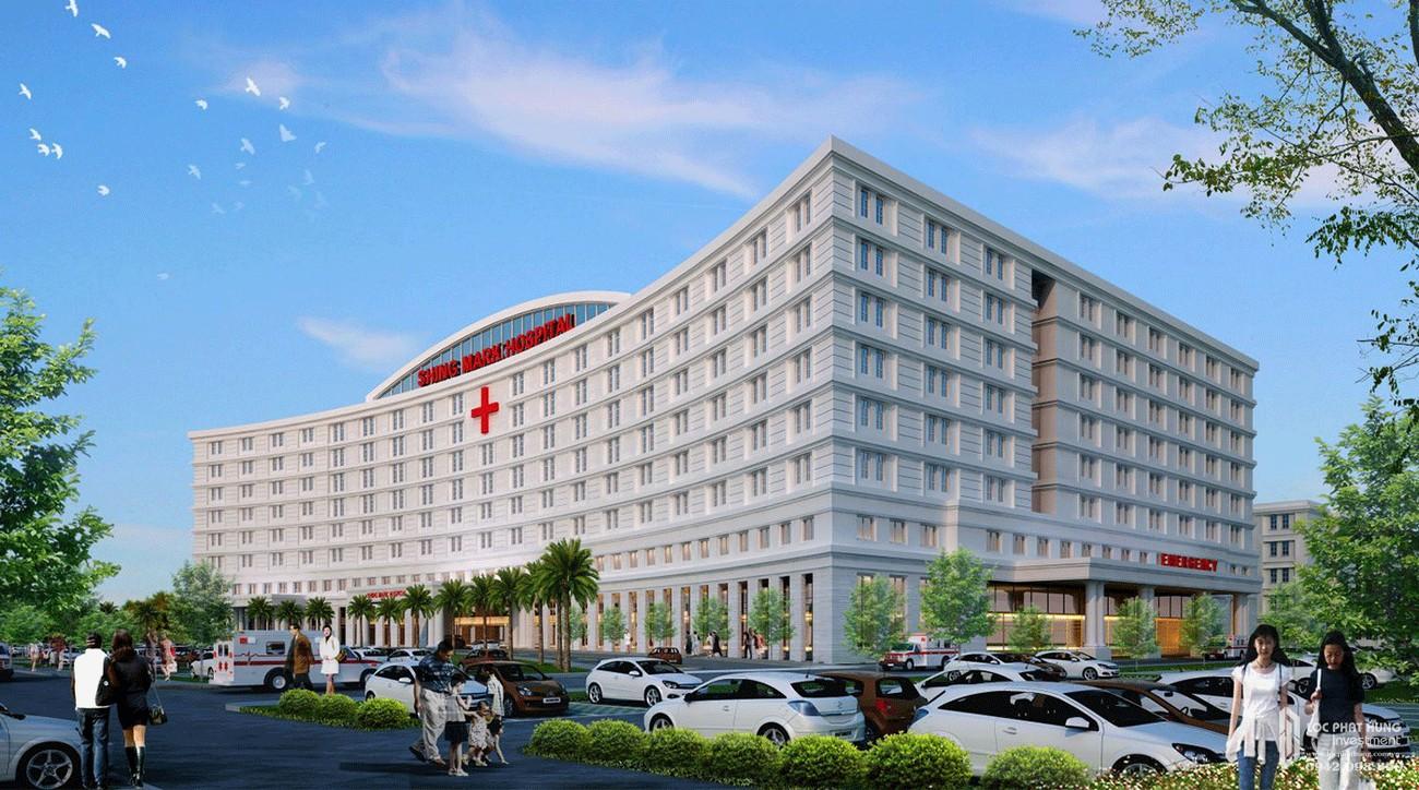 Bệnh viện Shing Mark - tiện ích ngoại khu của dự án Aqua City The Phoenix South nhà phát triển Novaland.