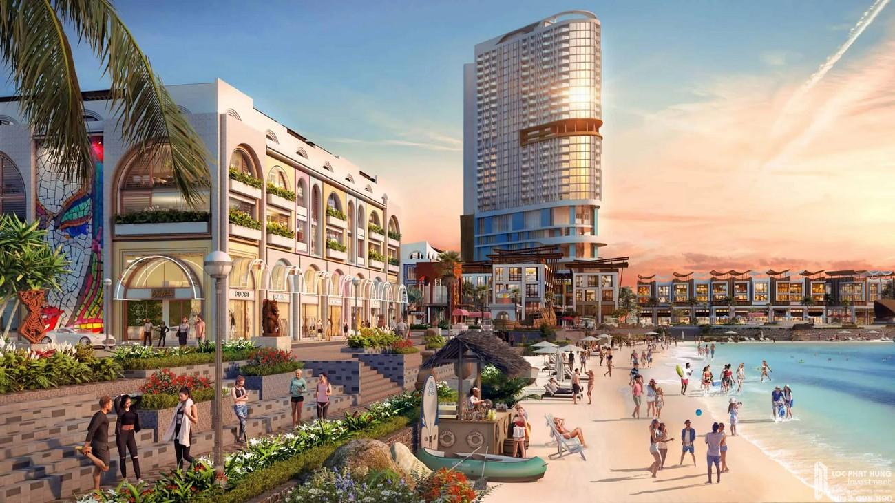 Đường bờ biển dự án Vega City Nha Trang chủ đầu tư KDI Holdings