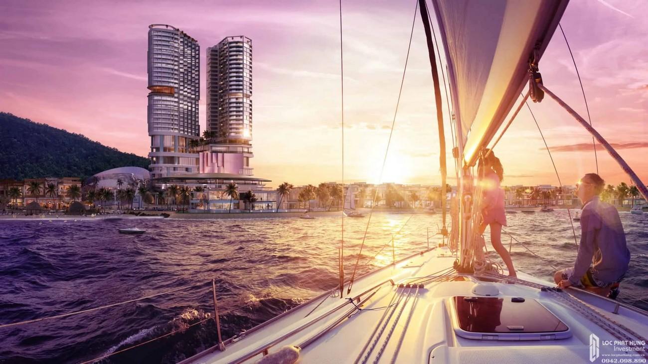 Du thuyền dự án Vega City Nha Trang chủ đầu tư KDI Holdings