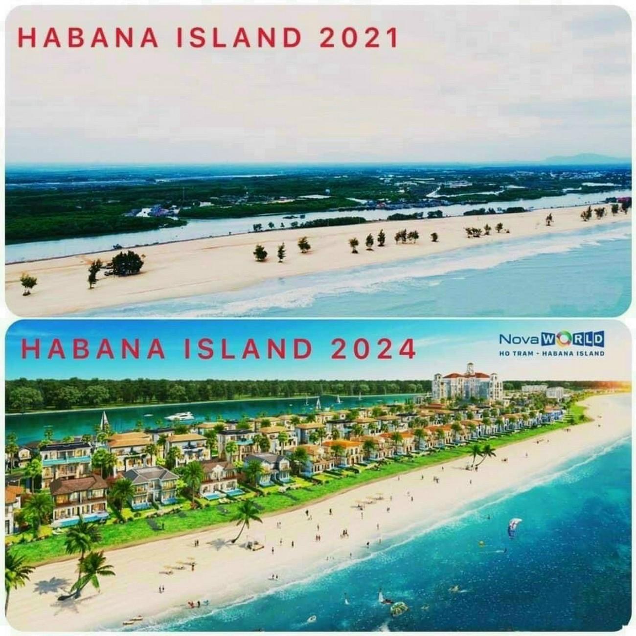 Habana island 2021 và Habana island 2024
