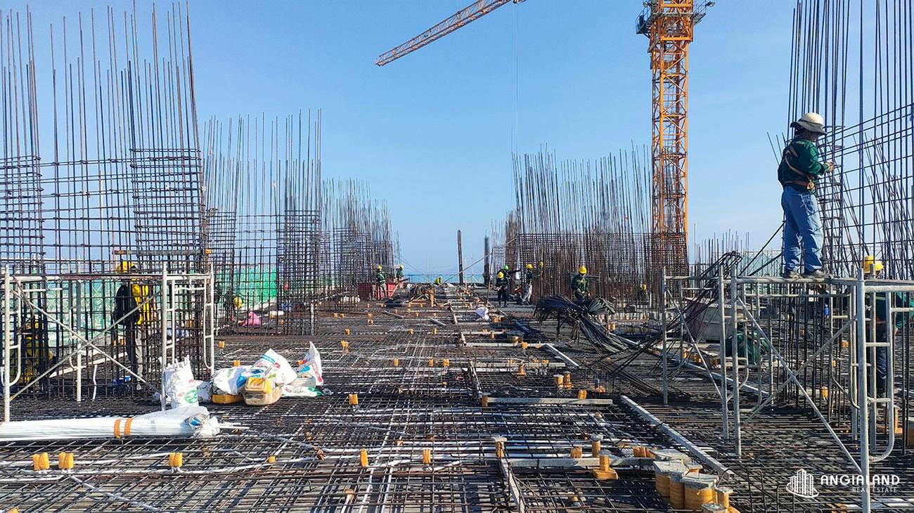 Tiến độ xây dựng tháng 04/2021 The Sóng Vũng Tàu
