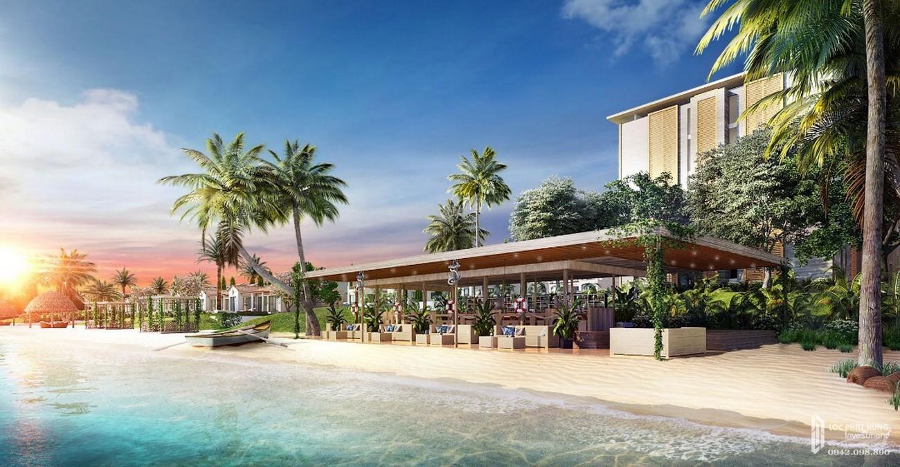 BeachClub trên Bãi Dài - tiện ích của dự án NovaBeach Cam Ranh nhà phát triển Novaland