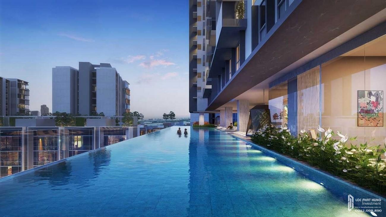 Hồ bơi The Crest Residence Thủ Thiêm
