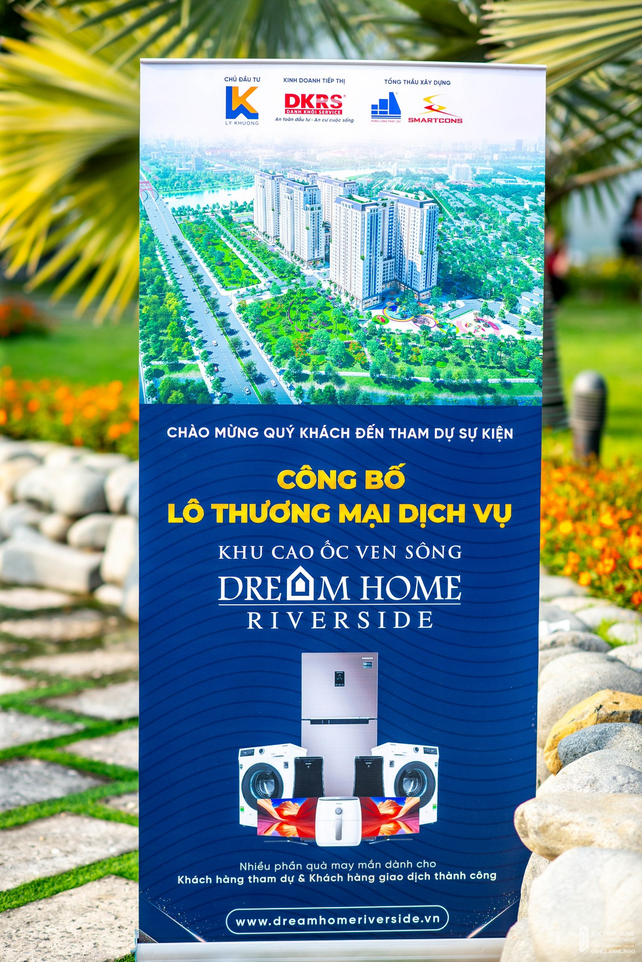 Mở bán dự án căn hộ chung cư Dream Home Riverside Quận 8 Đường Nguyễn Văn Linh chủ đầu tư Công ty cổ phần Nhà Mơ