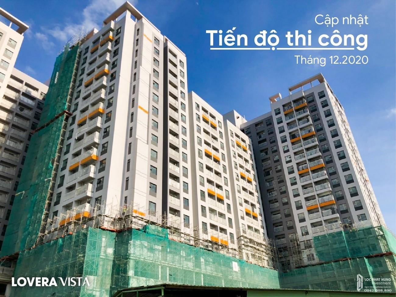 Tiến độ Lovera Vista Bình Chánh tháng 01/2021 chủ đầu tư Khang Điền