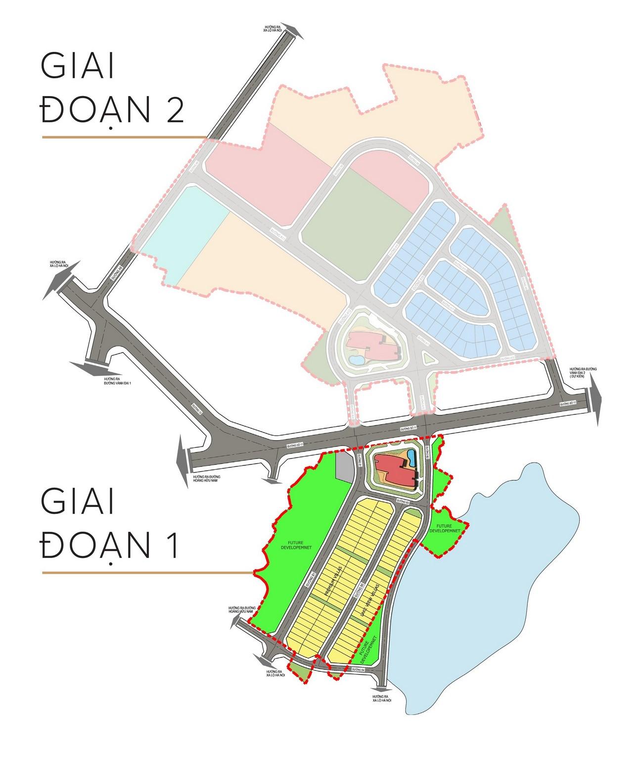 Mặt bằng dự án căn hộ chung cư The 9 Stellars Quận 9 Đường Hoàng Hữu Nam chủ đầu tư Ngân Thạnh