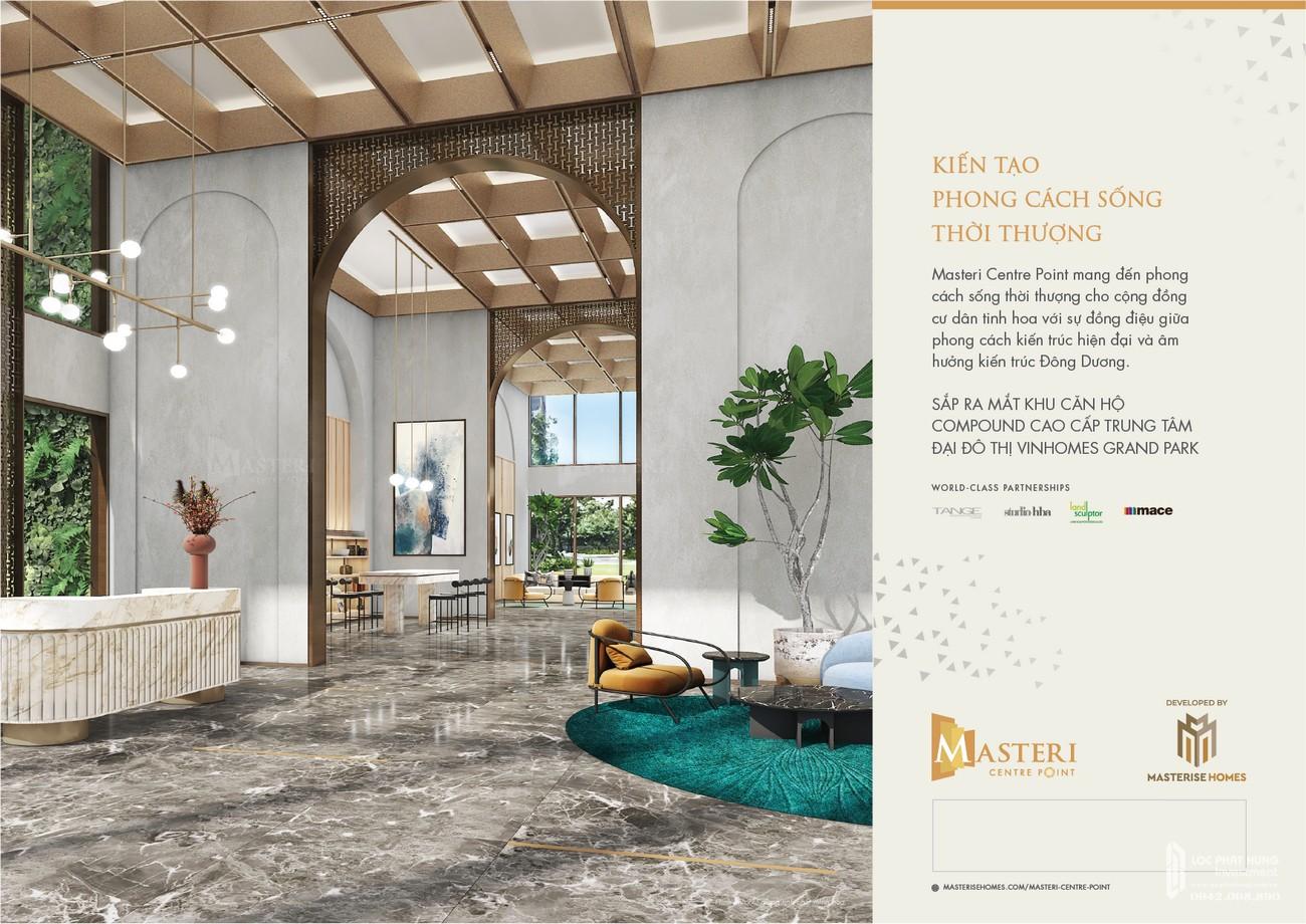 Mua bán cho thuê dự án căn hộ chung cư Masteri Centre Point Quận 9 Đường Nguyễn Xiển chủ đầu tư Masterise Homes