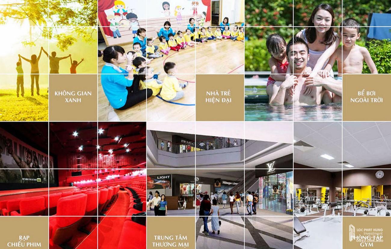 Tiện ích dự án căn hộ chung cư The Opera Residence Thủ Thiêm chủ đầu tư Sơn Kim Land