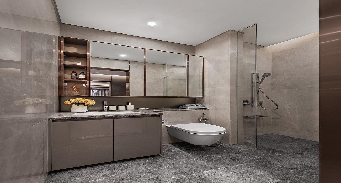 Phòng Toilet căn hộ Goldora Plaza Nhà Bè