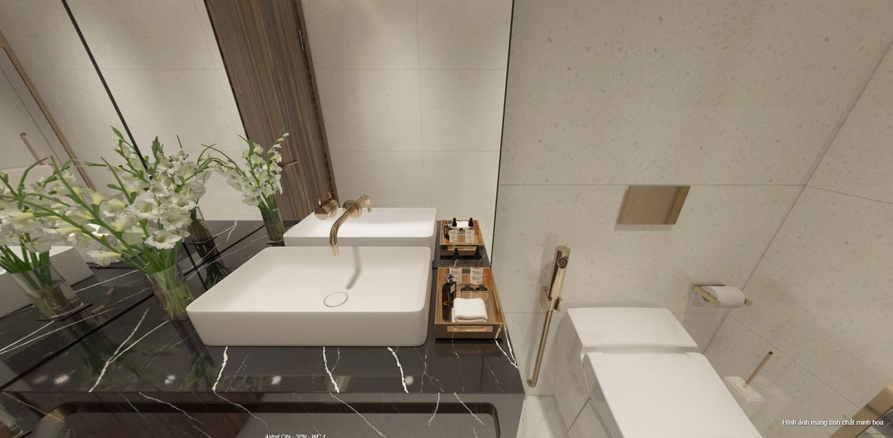 Nhà mẫu căn hộ Astral City 3 Phòng ngủ - Liên hệ 0942.098.890 nhận báo giá căn hộ này