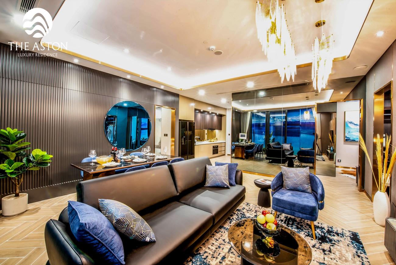 Nhà mẫu dự án căn hộ chung cư The Aston Nha Trang Đường Xóm Cồn chủ đầu tư DKRH