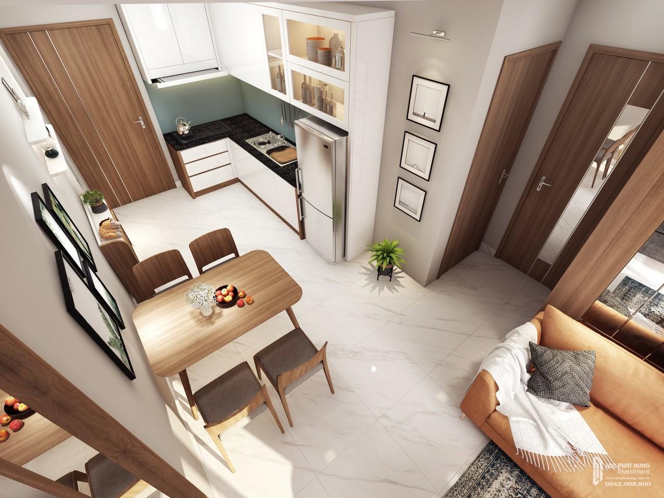Nhà mẫu dự án căn hộ chung cư The Seasons Apartment Thuận An Đường QL13 chủ đầu tư An Huy Construction