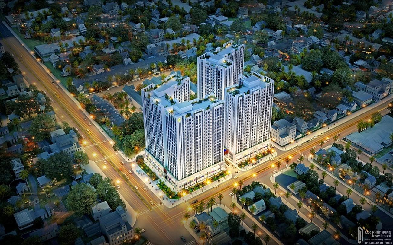 Phối cảnh tổng thể dự án căn hộ chung cư RichStar Tân Phú Đường 278 Hòa Bình chủ đầu tư Novaland