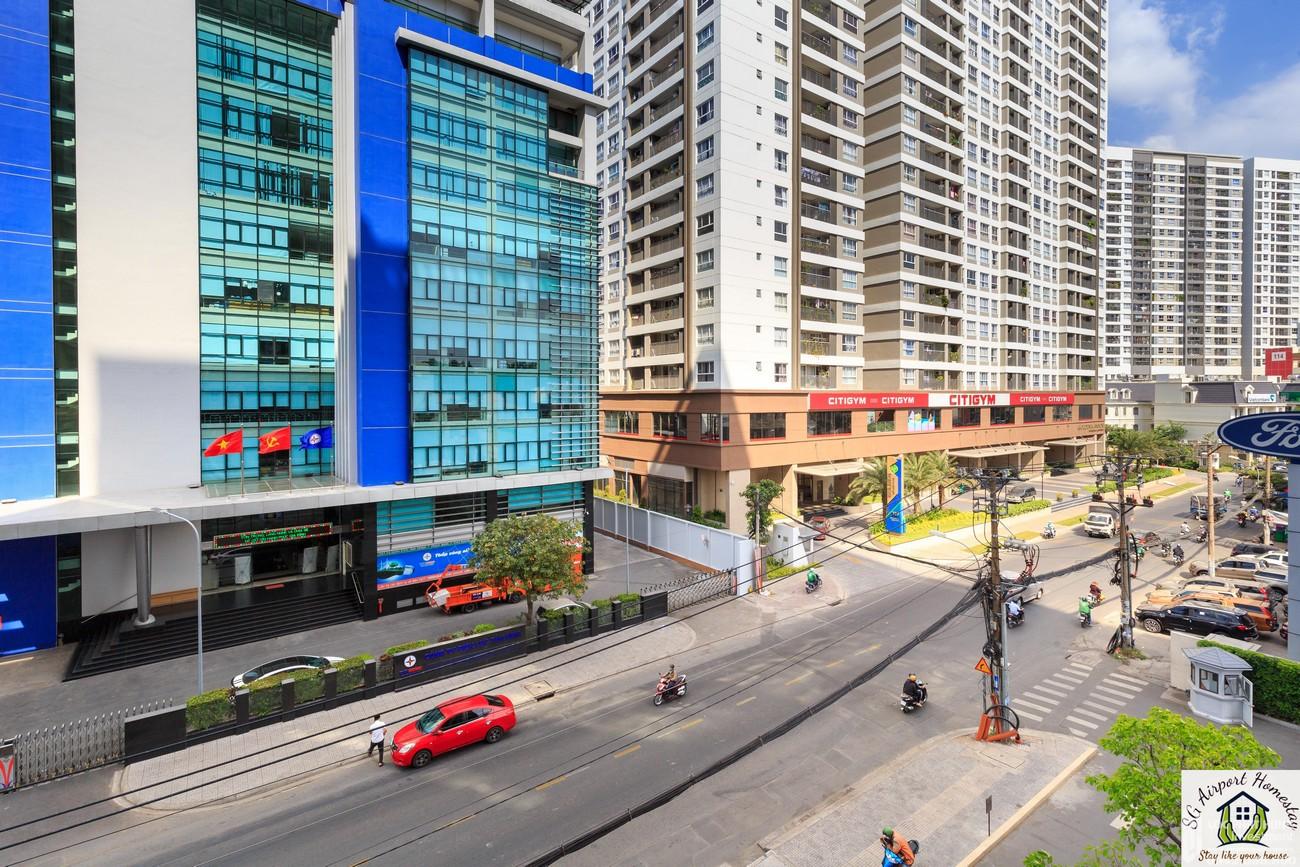 Phối cảnh tổng thể dự án căn hộ chung cư The Botanica Tân Bình  Đường 104 Phổ Quang chủ đầu tư Novaland