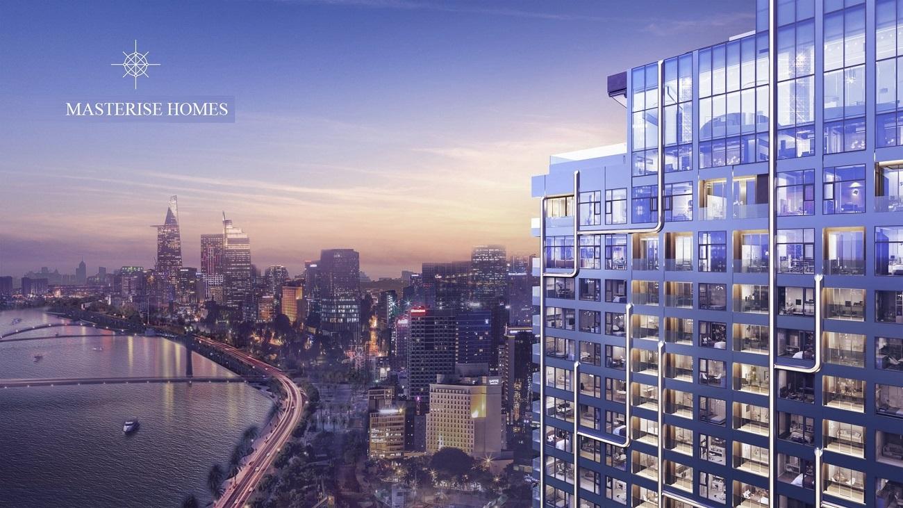Phối cảnh tổng thể dự án căn hộ Masterise Grand Marina Quận 1