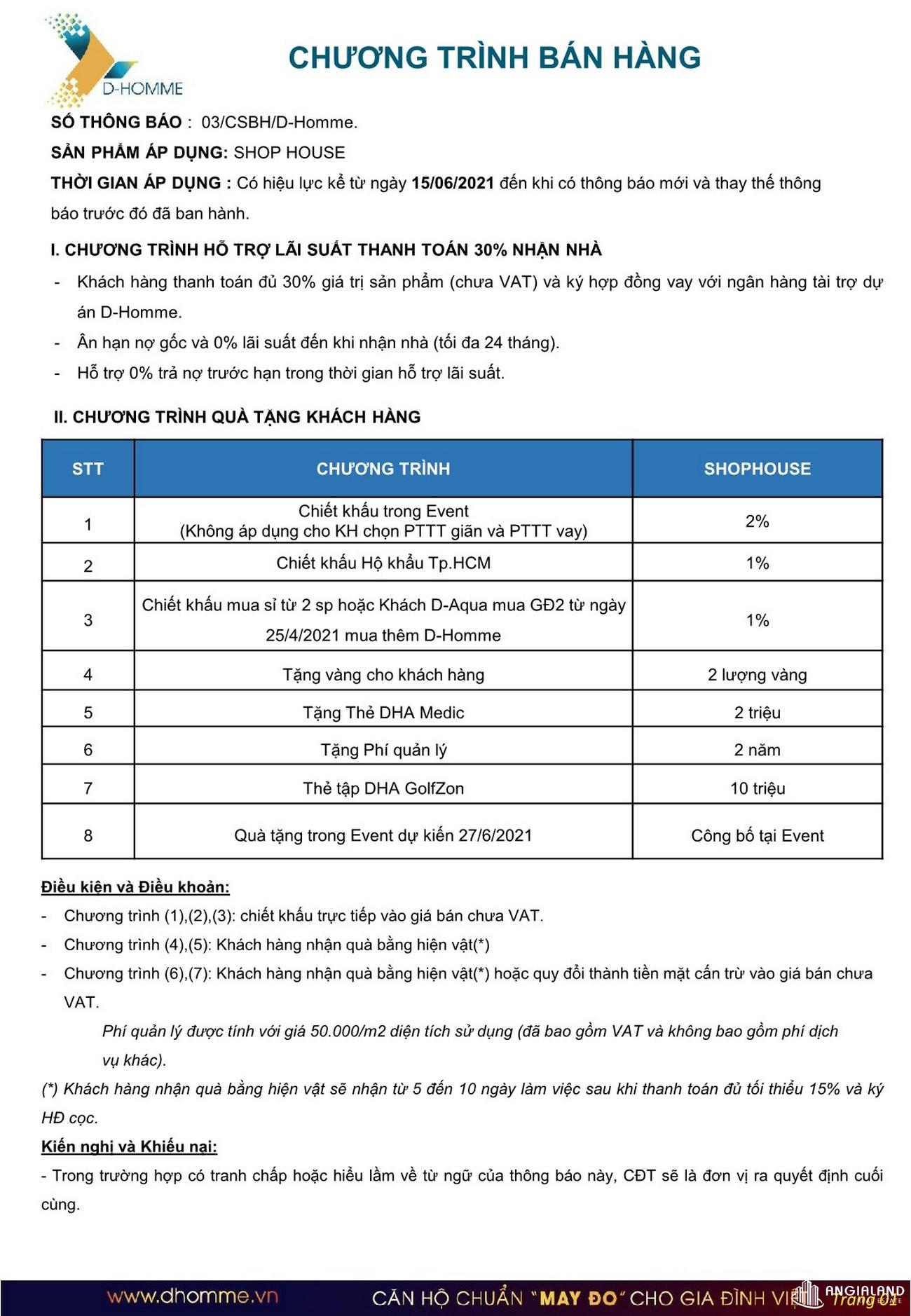 Phương thức thanh toán Shophosue D Homme Quận 6 Đường Hồng Bàng chủ đầu tư DHA