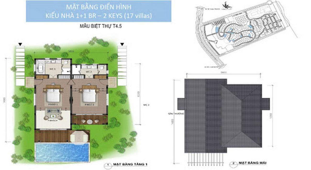 Thiết kế nhà mẫu biệt thự dự án NovaBeach Cam Ranh nhà phát triển Novaland