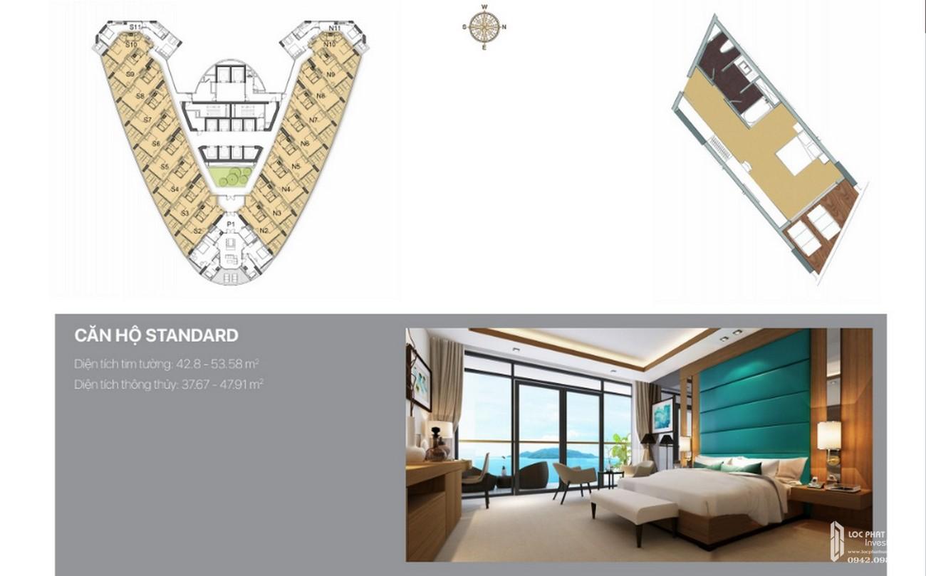 Thiết kế dự án condotel Beau Rivage Nha Trang chủ đầu tư Tropicana Nha Trang