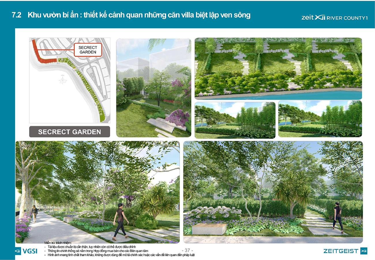 ZeitGeist Nhà Bè – Thiết kế cảnh quan cây xanh bảo phủ cả đô thị