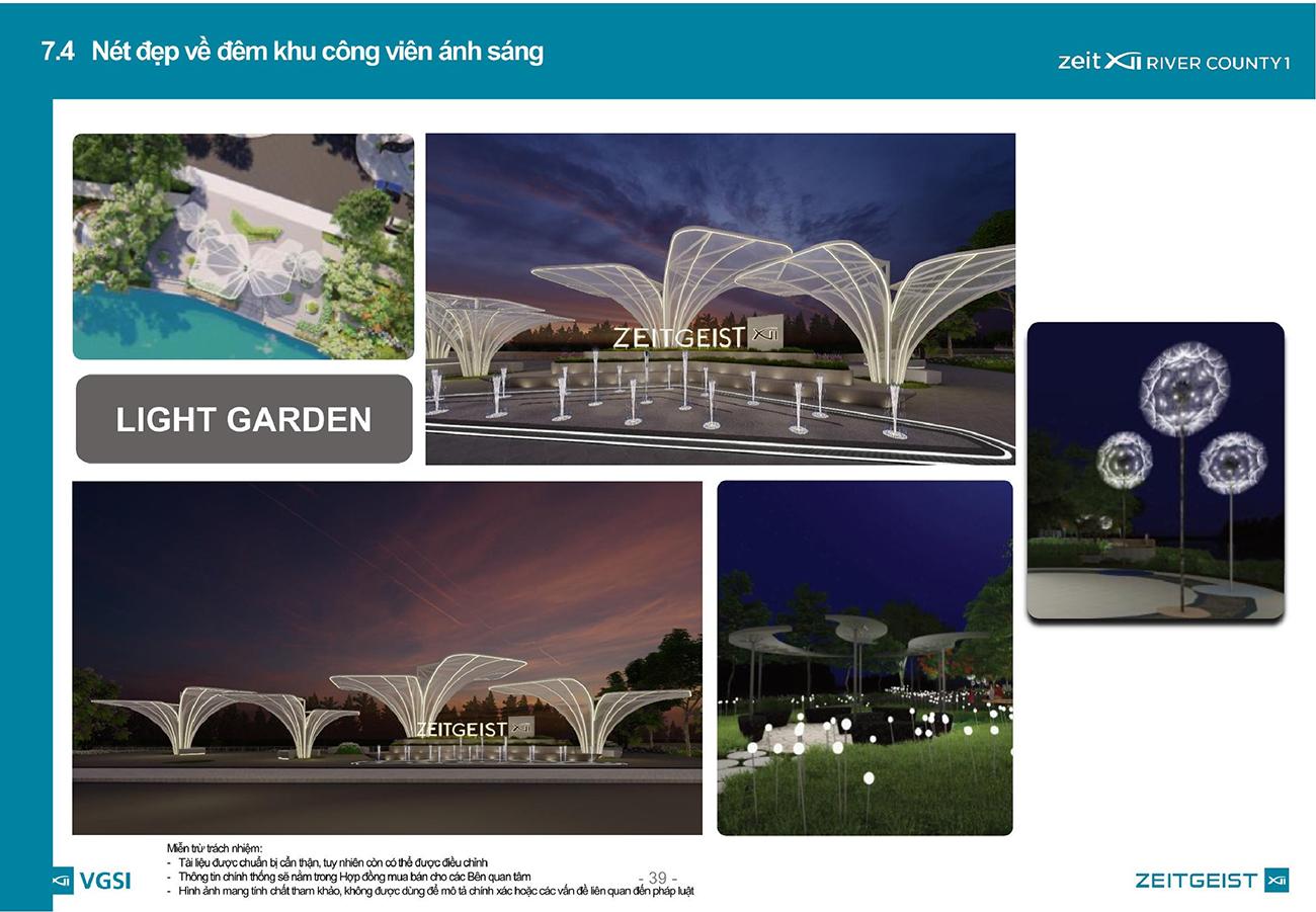 Công trình cảnh quan tại dự án khu đô thị ZeitGeist Nhà Bè