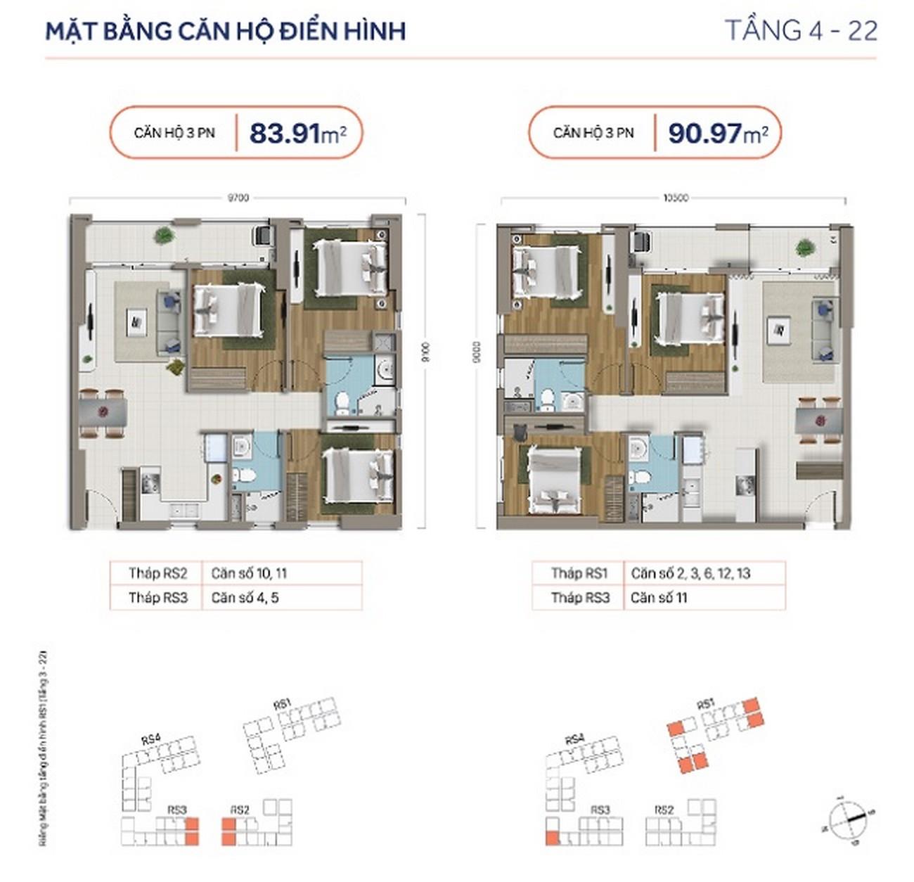 Thiết kế dự án căn hộ chung cư RichStar Tân Phú Đường 278 Hòa Bình chủ đầu tư Novaland