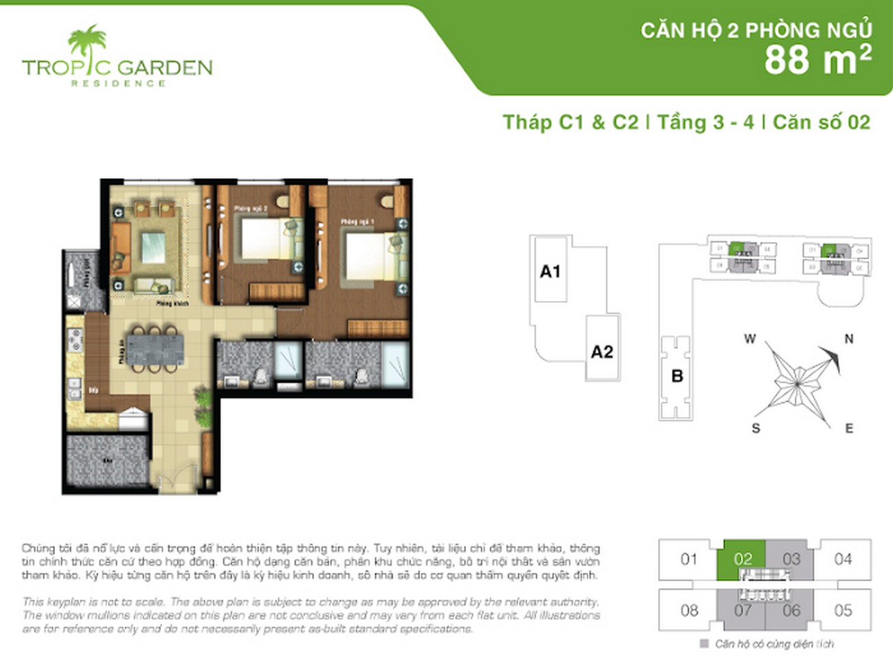 Thiết kế dự án căn hộ chung cư Tropic Garden Quận 2 Đường 66 chủ đầu tư Novaland