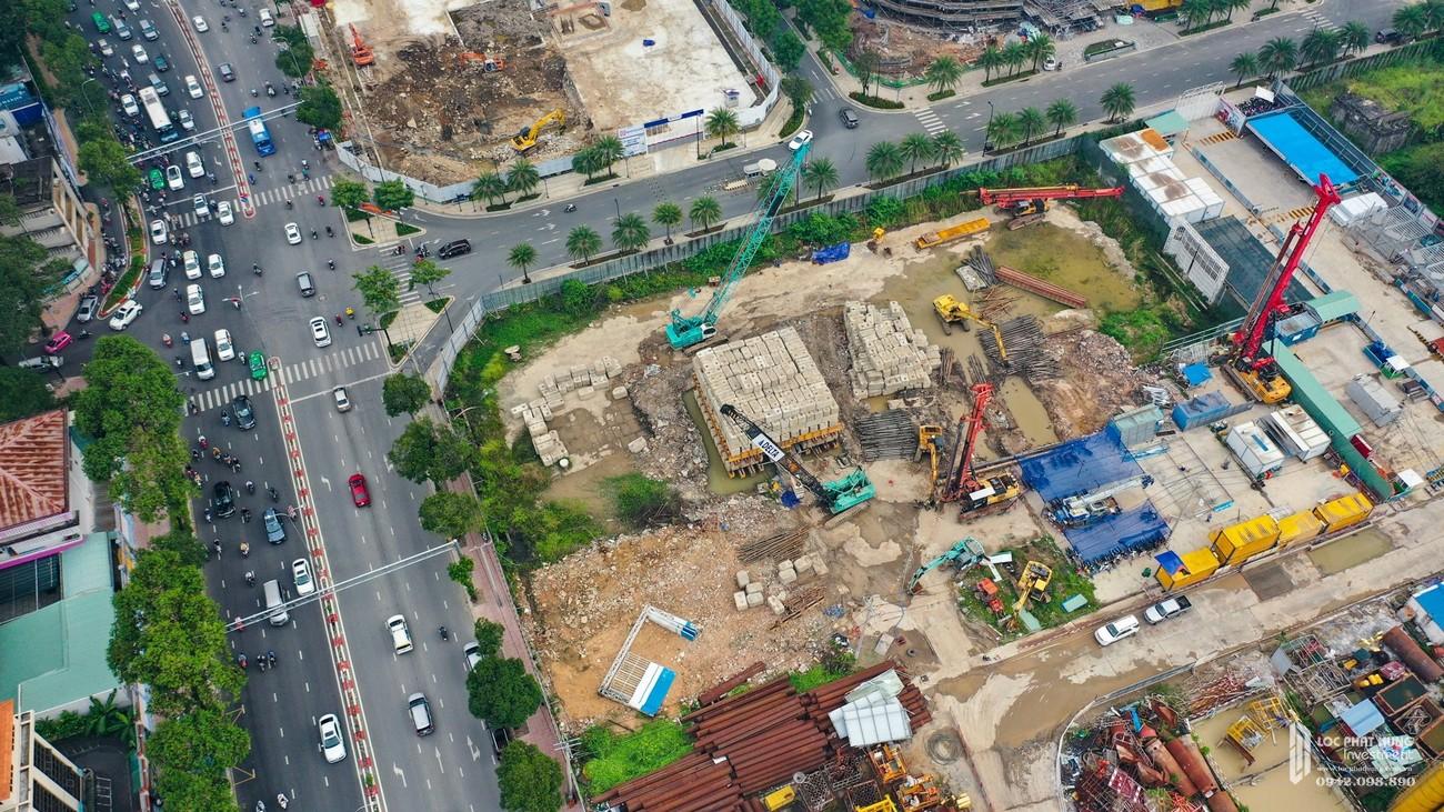 Tiến độ dự án căn hộ chung cư Masterise Grand Marina Quận 1 Đường Nguyễn Hữu Cảnh chủ đầu tư Masterise Homes