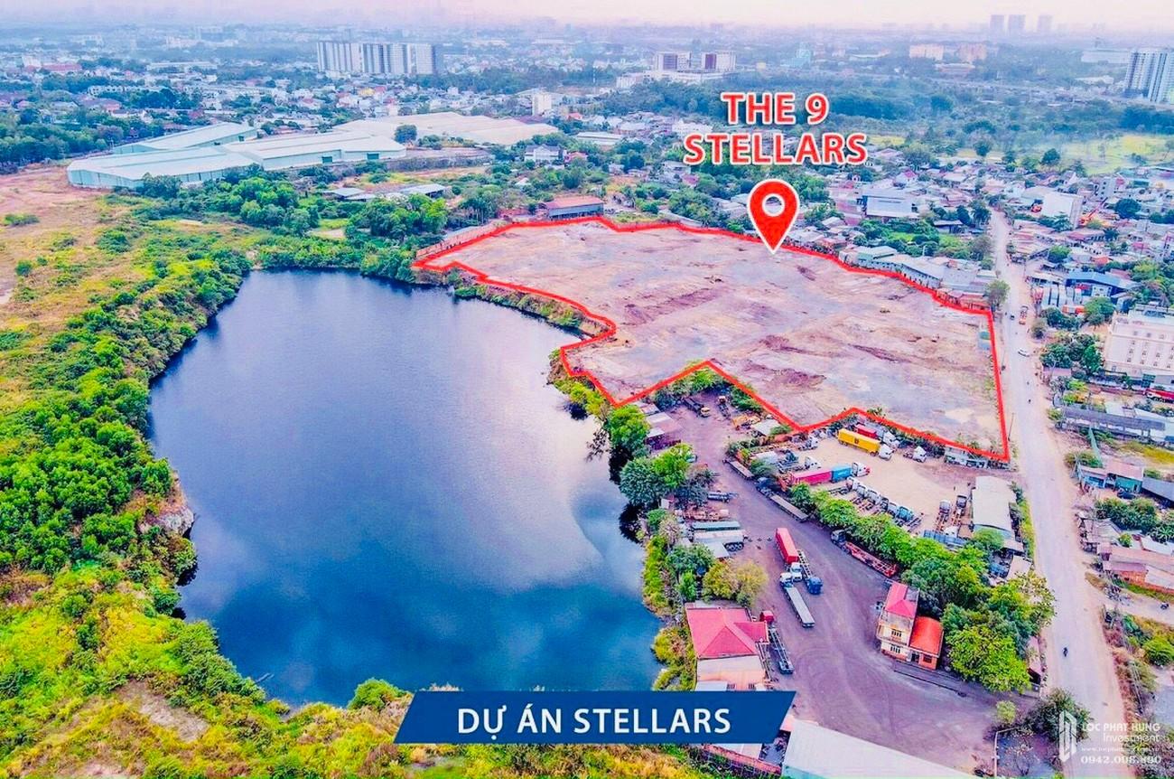 Tiến độ dự án căn hộ chung cư The 9 Stellars Quận 9 Đường Hoàng Hữu Nam chủ đầu tư Ngân Thạnh
