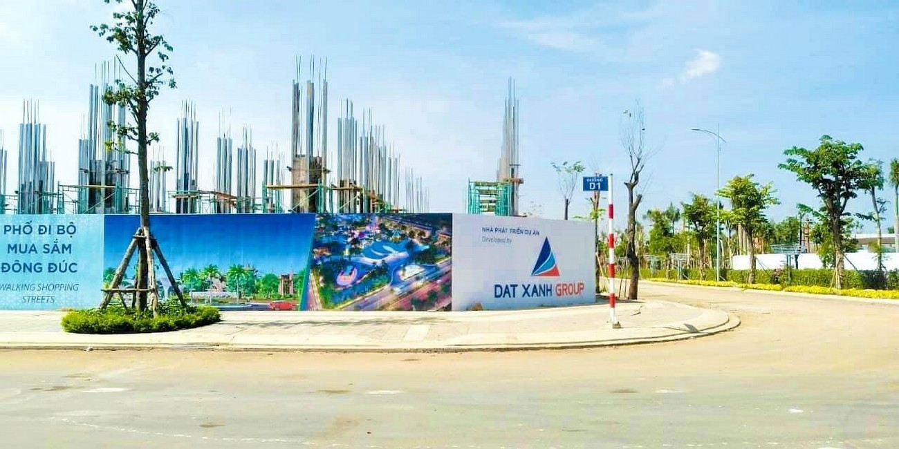 Tiến độ dự án nhà phố Sky World Đất Xanh Long Thành 11/01/2021