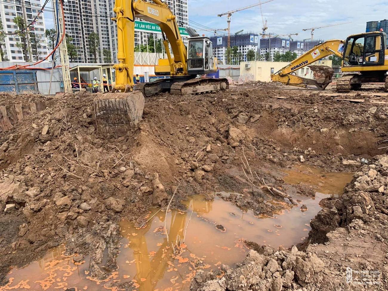 Tiến độ xây dựng Masteri Centre Point