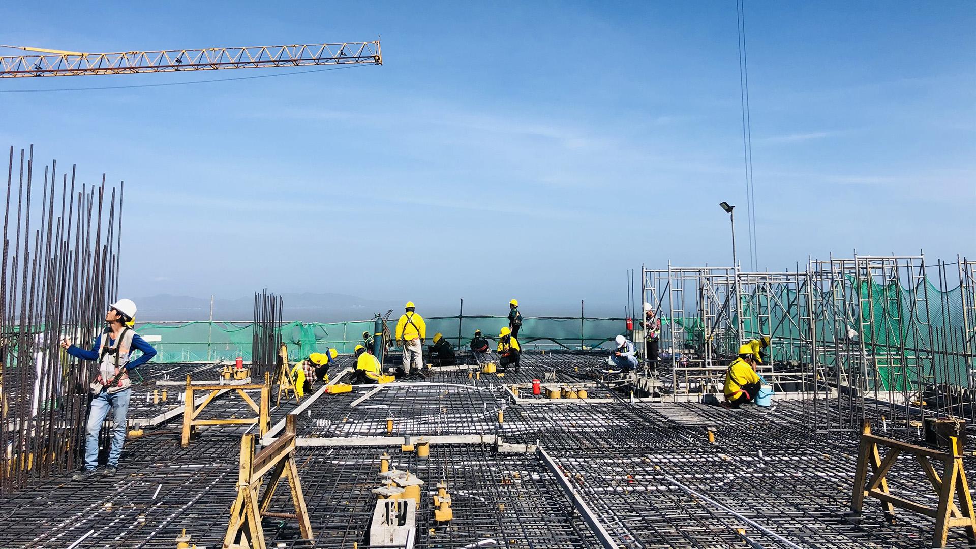 Tiến độ xây dựng The Sóng Vũng Tàu 03/2021 -