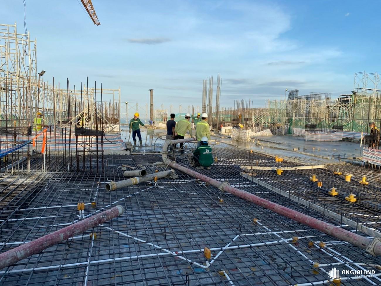Tiến độ xây dựng tháng 05/2021 The Sóng Vũng Tàu