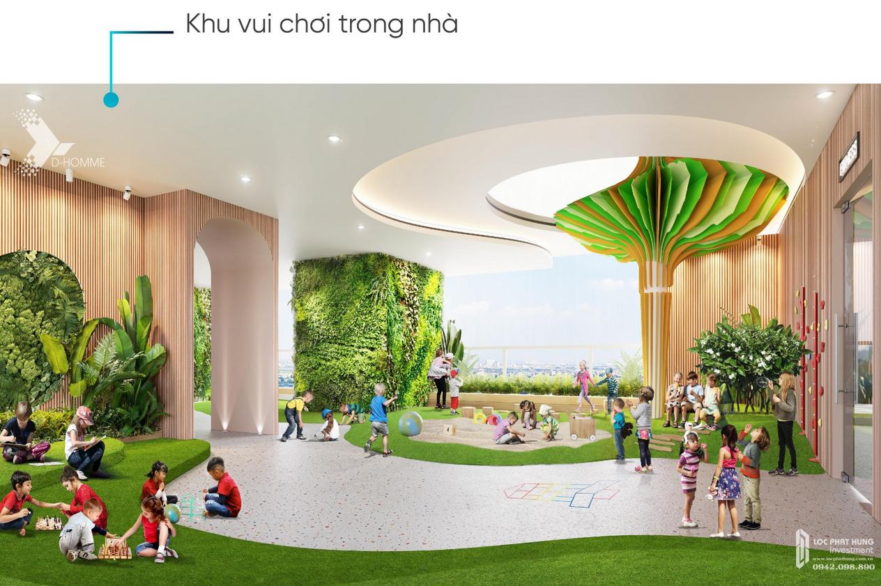 Tiện ích dự án căn hộ chung cư D Homme Quận 6 Đường Hồng Bàng chủ đầu tư DHA