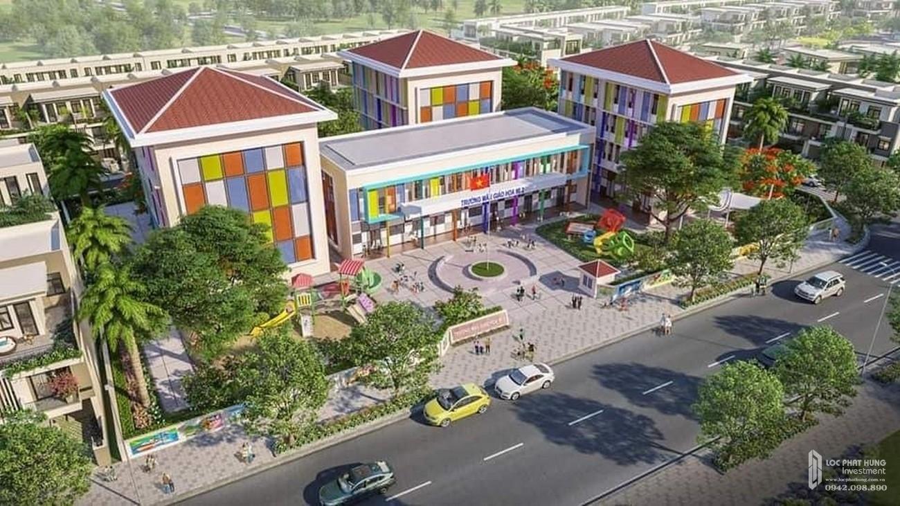 Phối cảnh tổng thể dự án căn hộ chung cư Dragon Sky View Thủ Đức Đường Tô Ngọc Vân chủ đầu tư Hưng Phú Investment