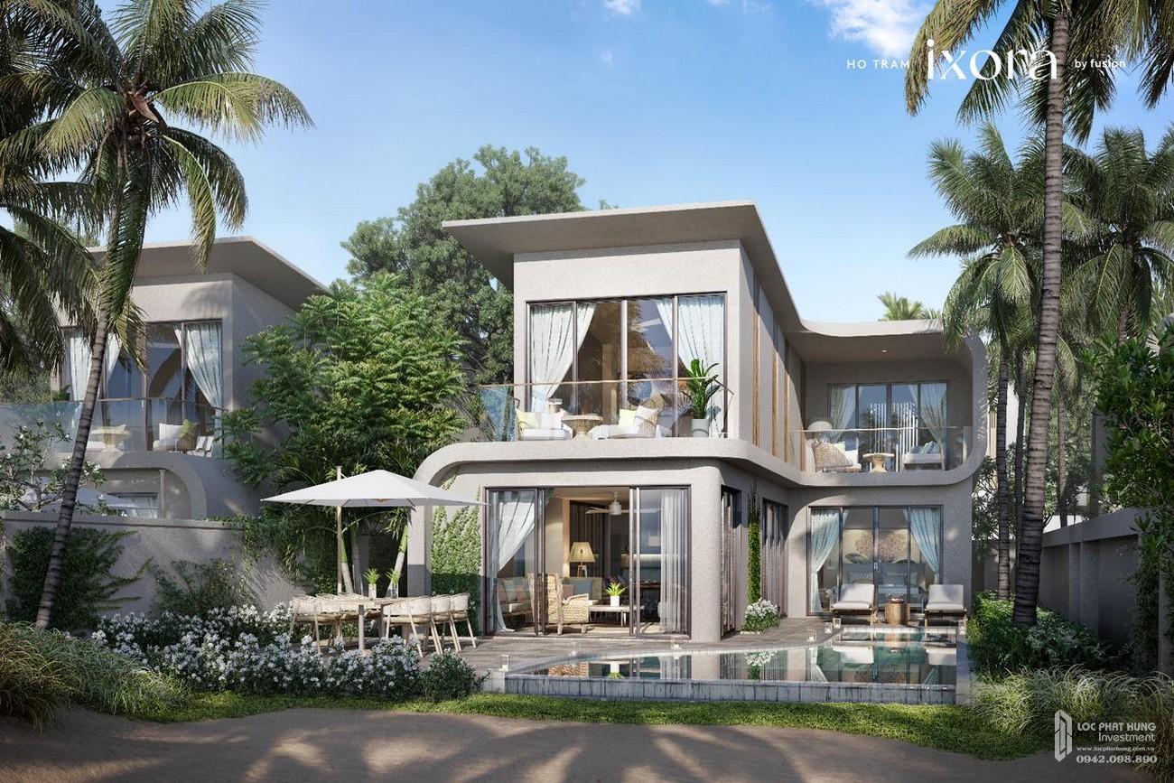 Nhà mẫu dự án biệt thự biển chung cư Ixora Hồ Tràm By Fusion Xuyên Mộc Đường Phước Thuận & Bông Trang chủ đầu tư ACDL