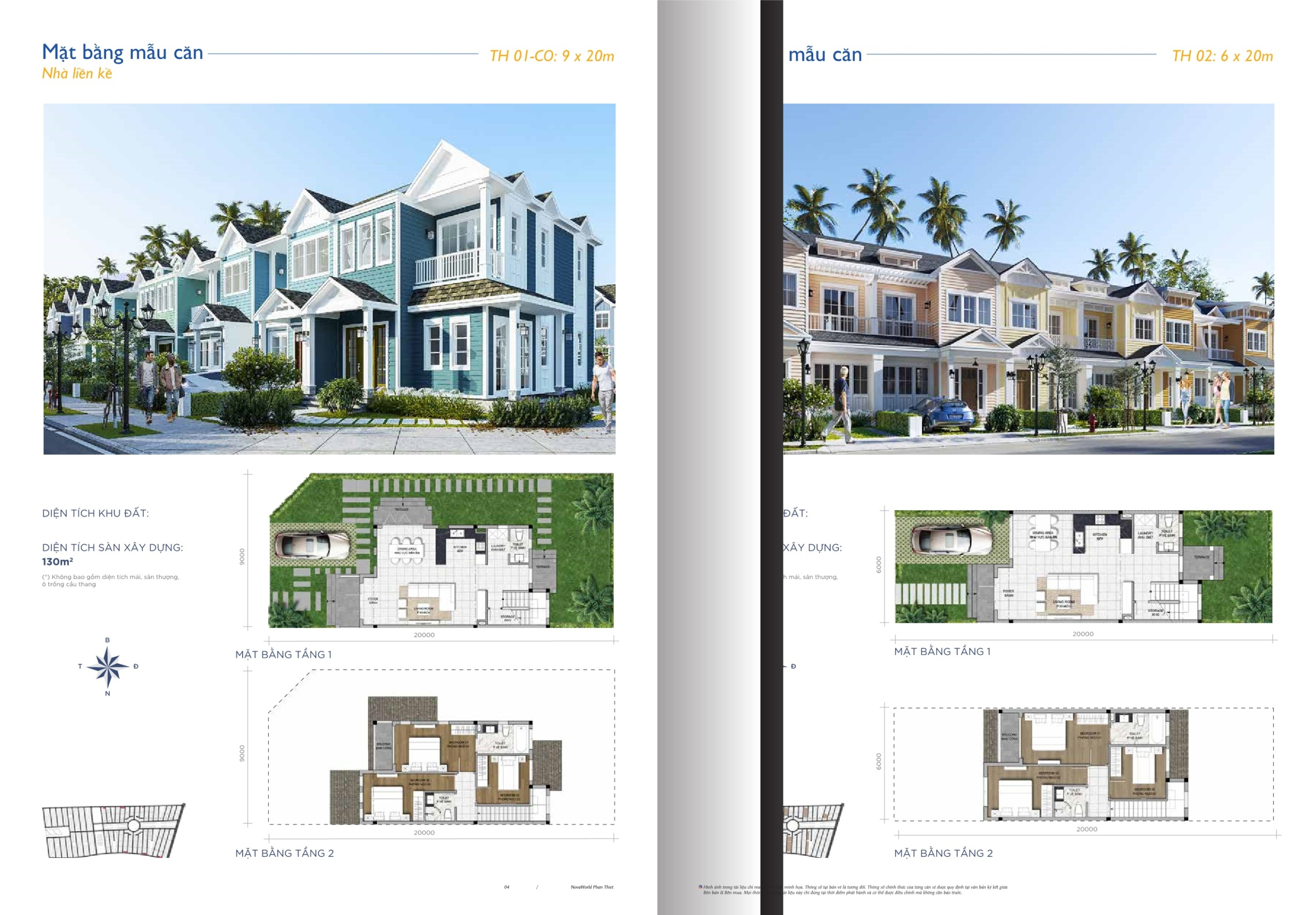 Thiết kế chi tiết dự án Novaworld Phan Thiết nhà phát triển Novaland