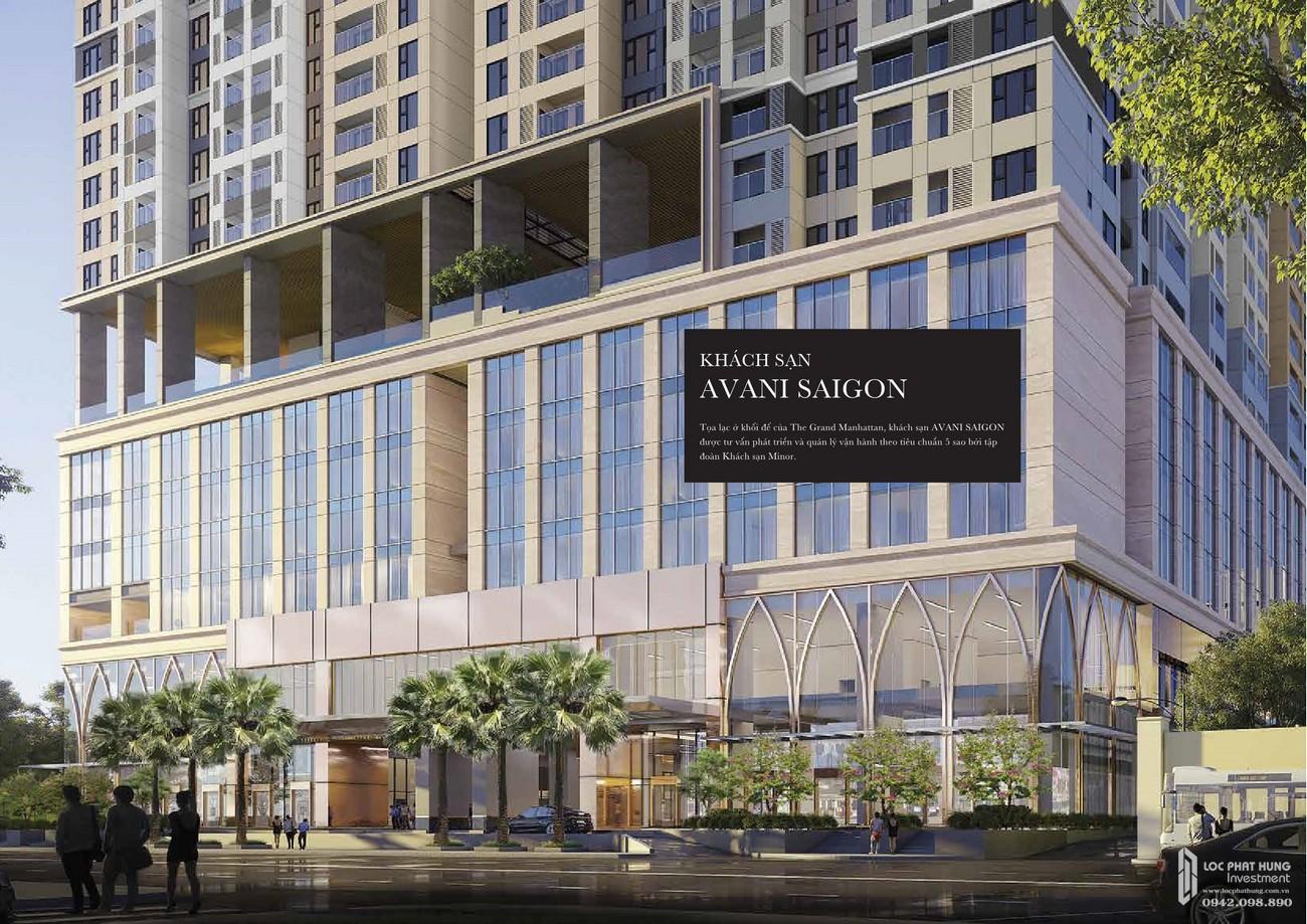 Khách sạn Avani Sài Gòn - Tiện ích đẳng cấp sang trọng của dự án Grand Manhattan quận 1 nhà phát triển Novaland