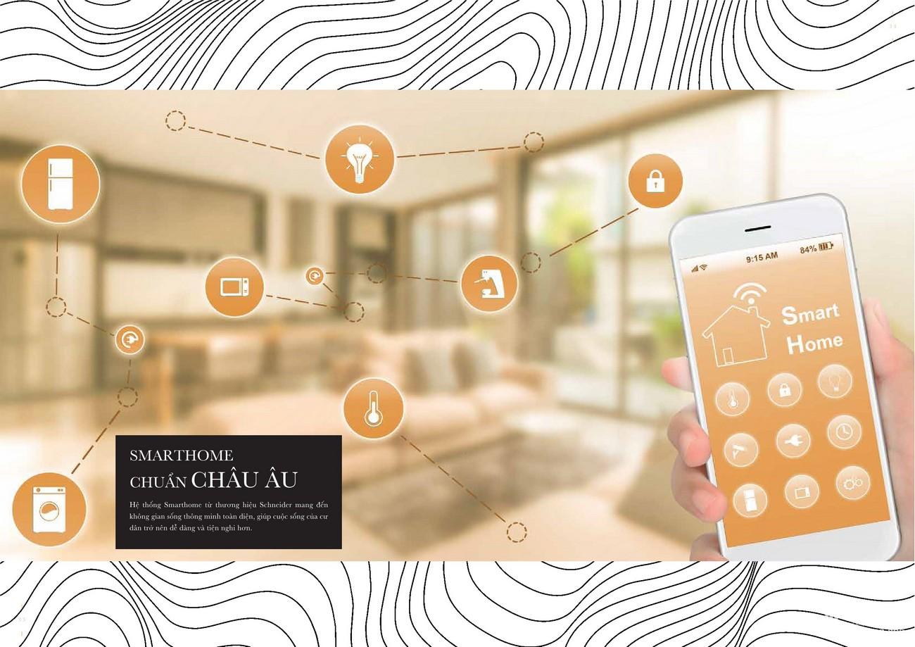 Smart chuẩn Châu Âu - Tiện ích đẳng cấp sang trọng của dự án Grand Manhattan quận 1 nhà phát triển Novaland